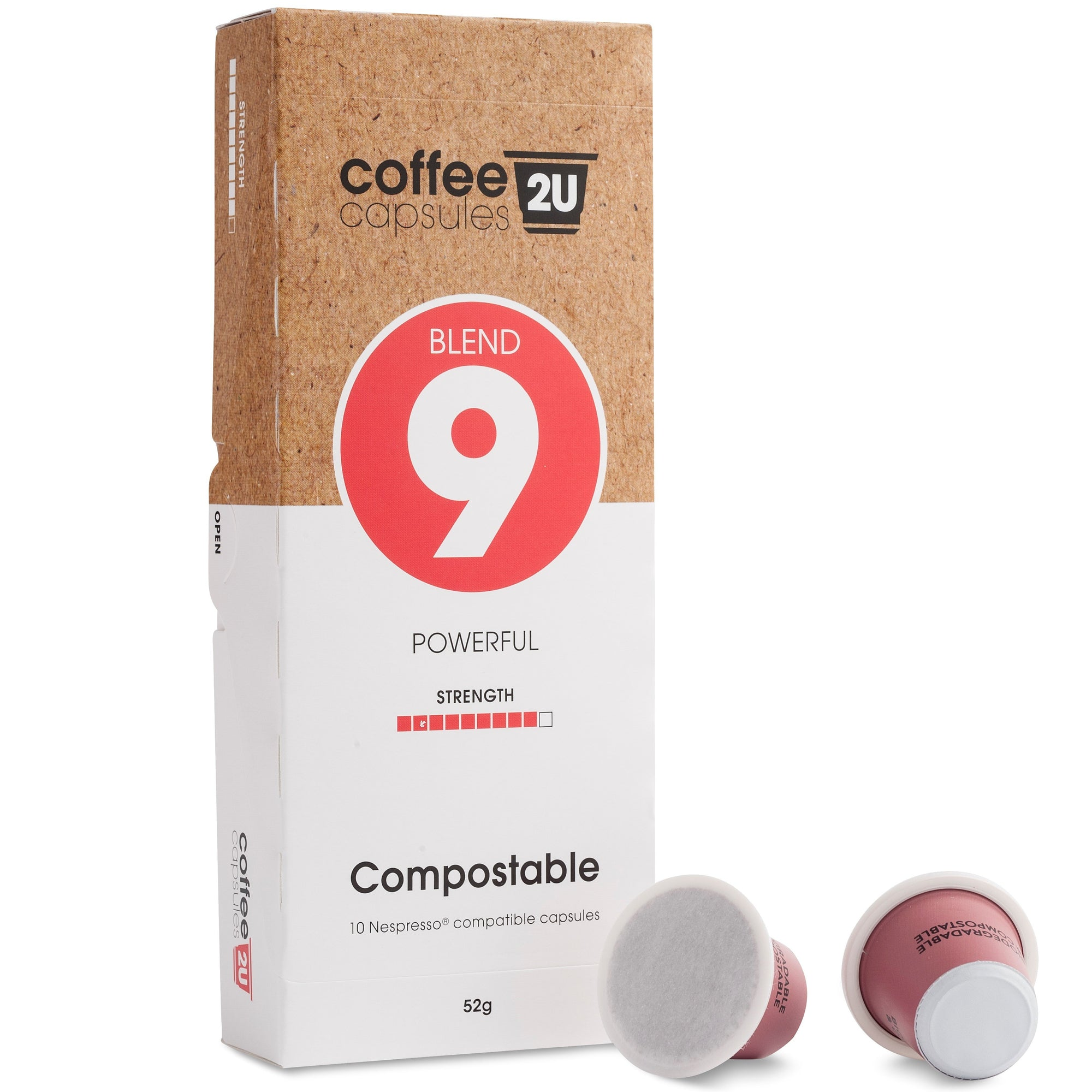 Compostable Blend 9 - Powerful