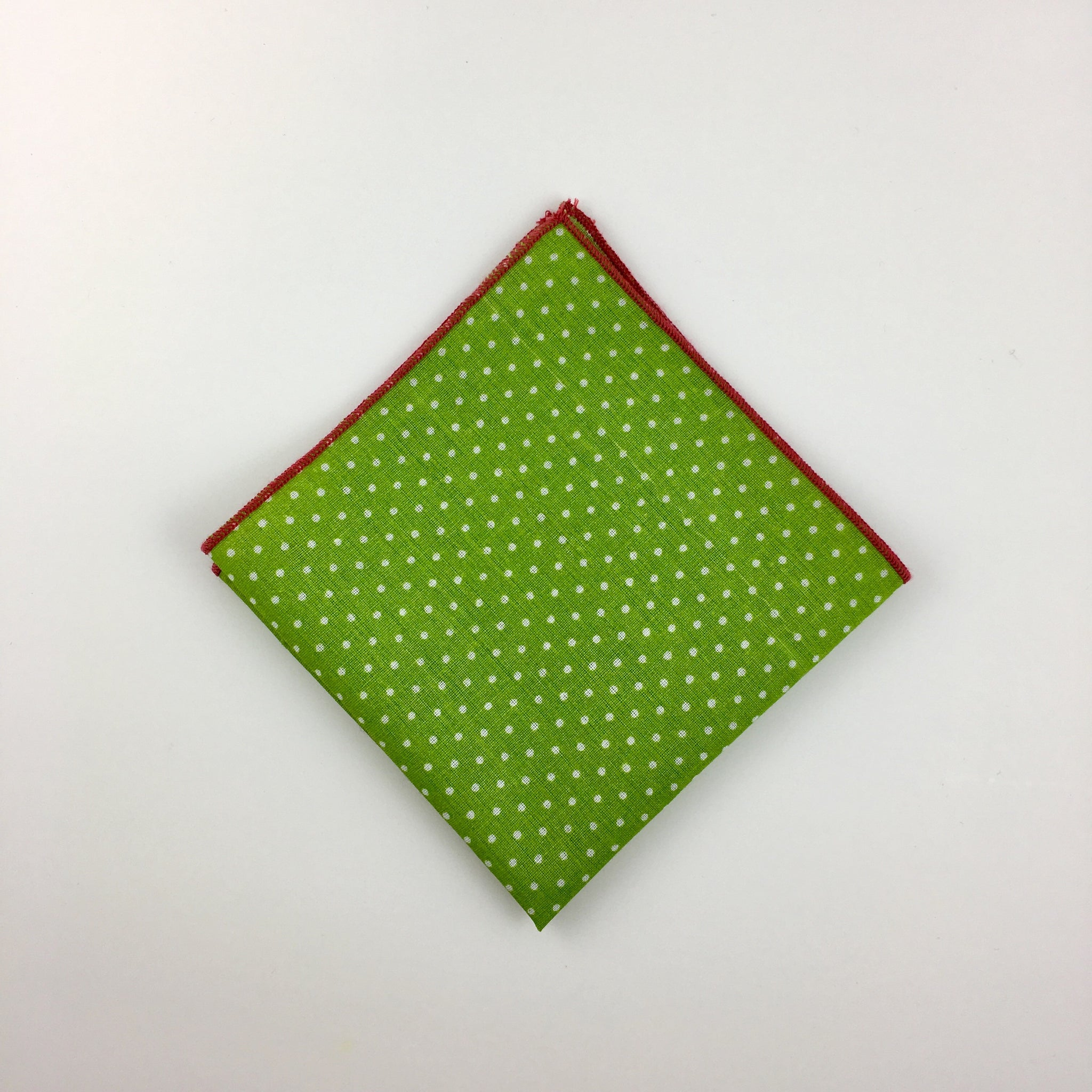 The-Dirty-Collar- Rios Collection- Green Men's Pocket Squares- Men's Accessories