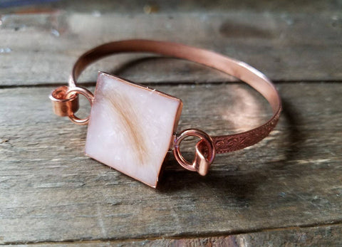 Copper Flourish Bracelet
