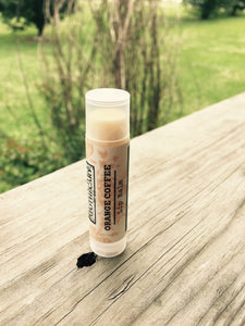 Orange Coffee Lip Balm