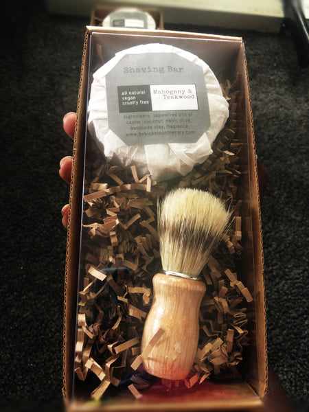 Shaving Soap and Shaving Brush