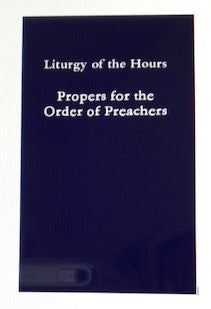 Book; Propers of the Order of Preachers (Full size 6X9)