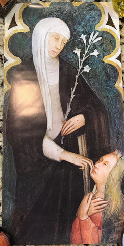 Poster - St. Catherine with her mother