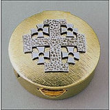 Pyx Jerusalem cross