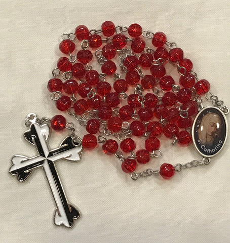 Rosary, Red Crystal