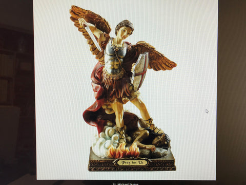 St Michael Figurine