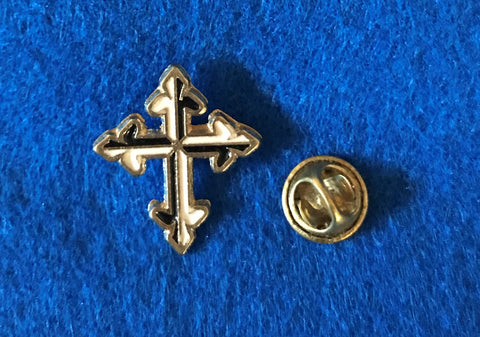 Cross Brooch Pin