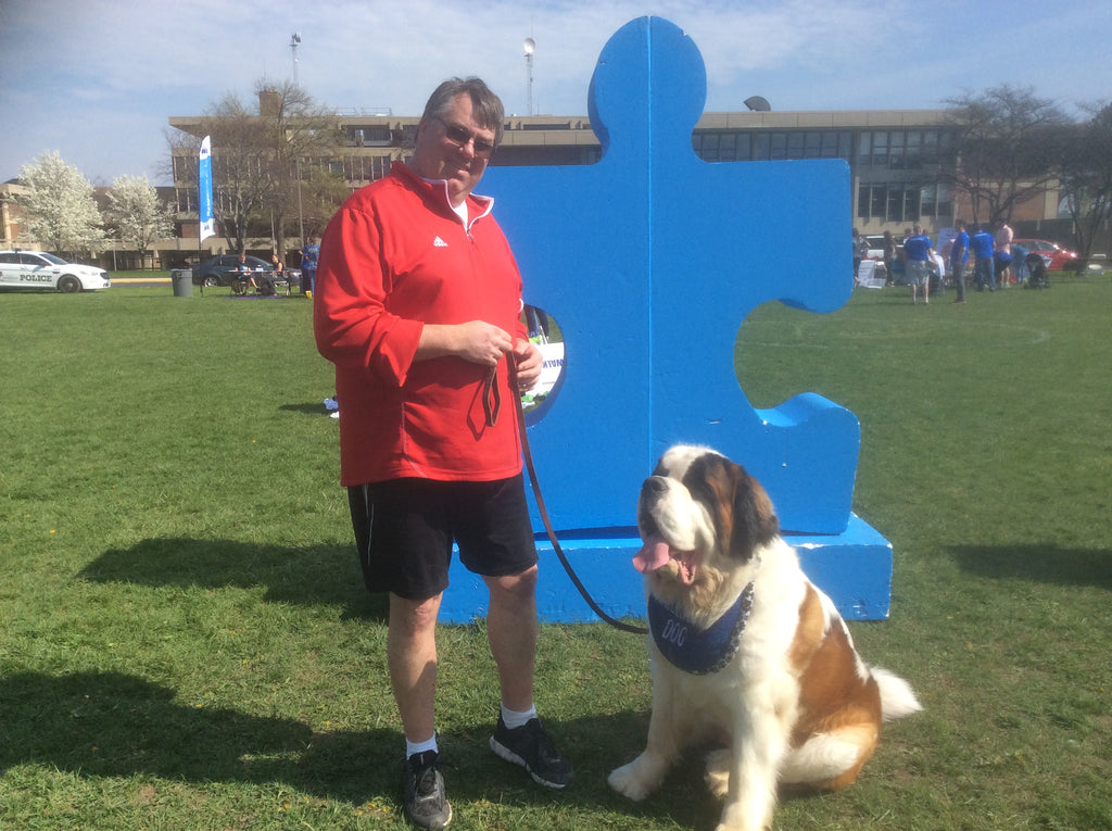 Autism Speaks Walk - Meeting Scott