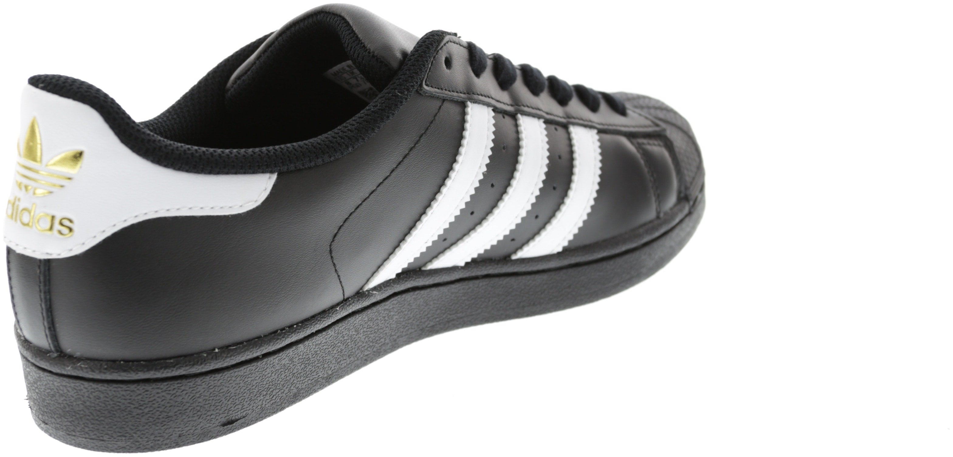competitive price dd6d3 ab7bd New Men s Adidas Superstar Foundation Shoe Black white Footwear Sneakers  Shoes R   eBay