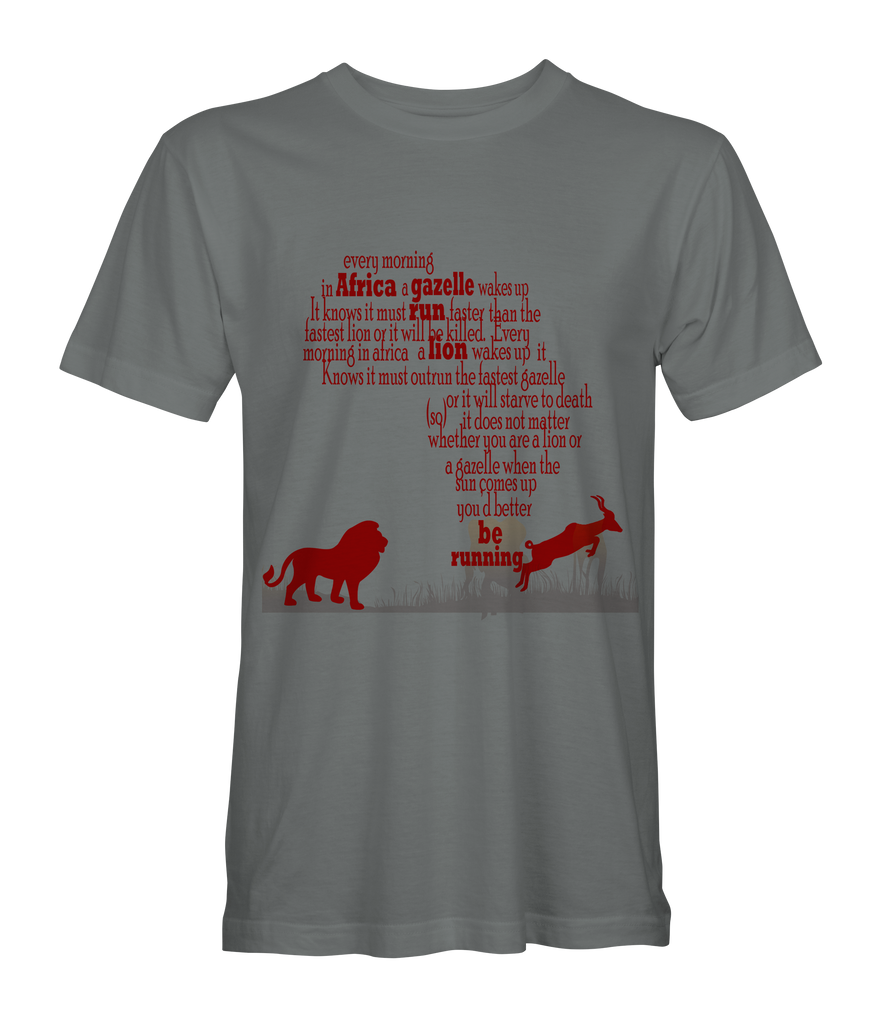African Proverb Tee