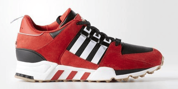 Adidas EQT Running Support Shoes - Red/Black/White