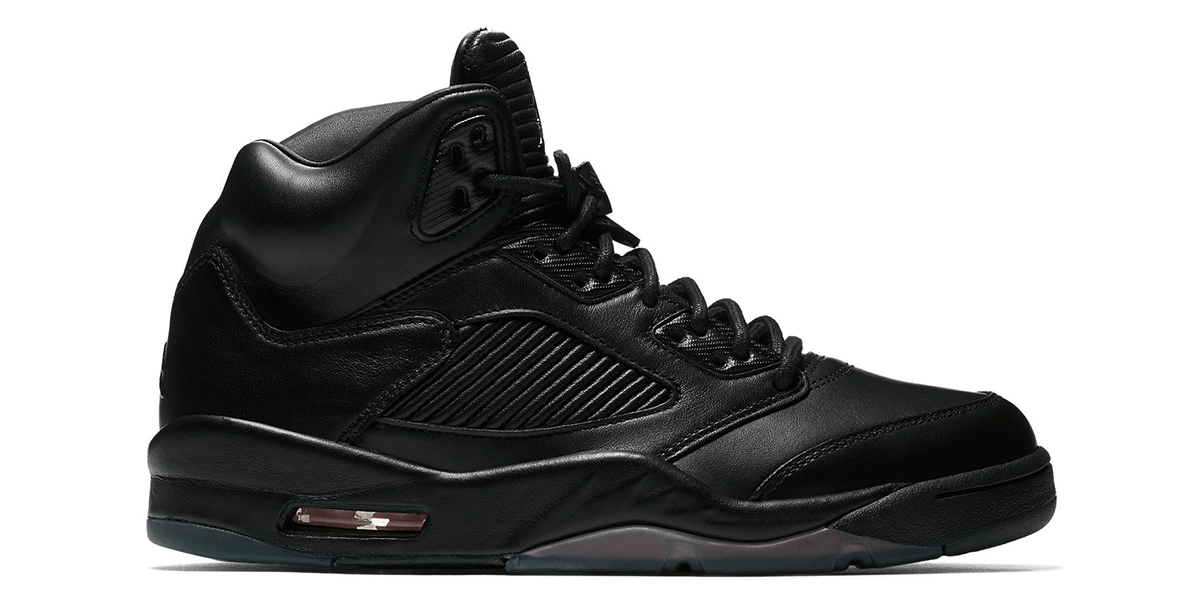 Air Jordan 5 Premium Triple Black
