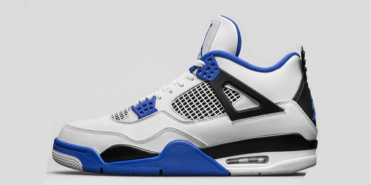 "Customize Your Air Jordan 4 ""MOTORSPORT"" Sneakers"