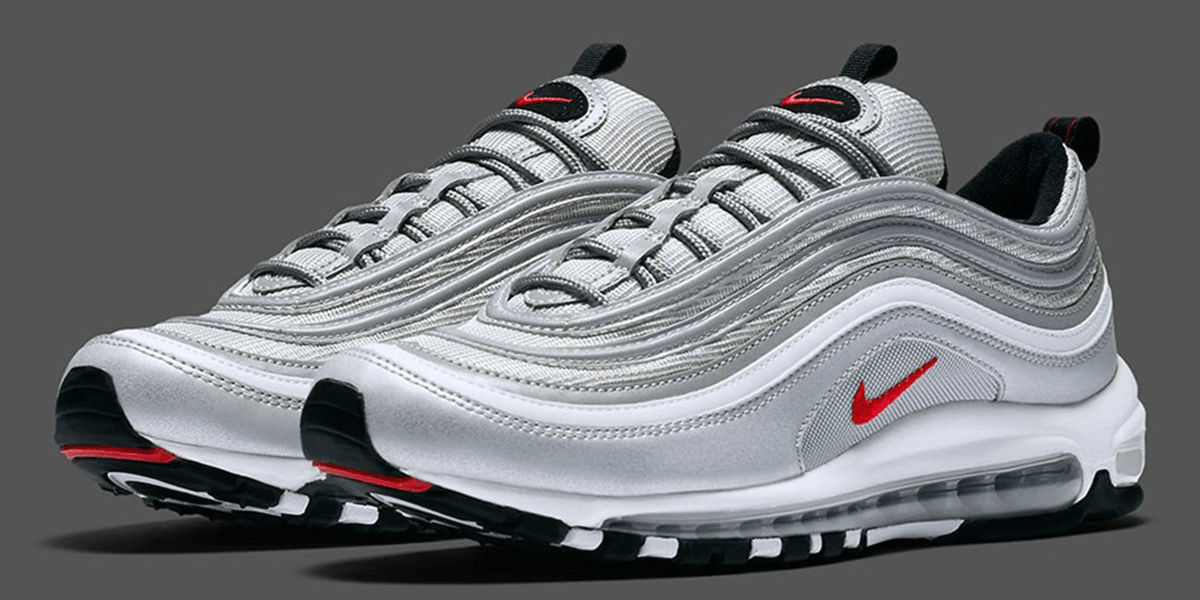 "Personalize Your Nike Air Max 97 ""Silver Bullet"" Sneakers"