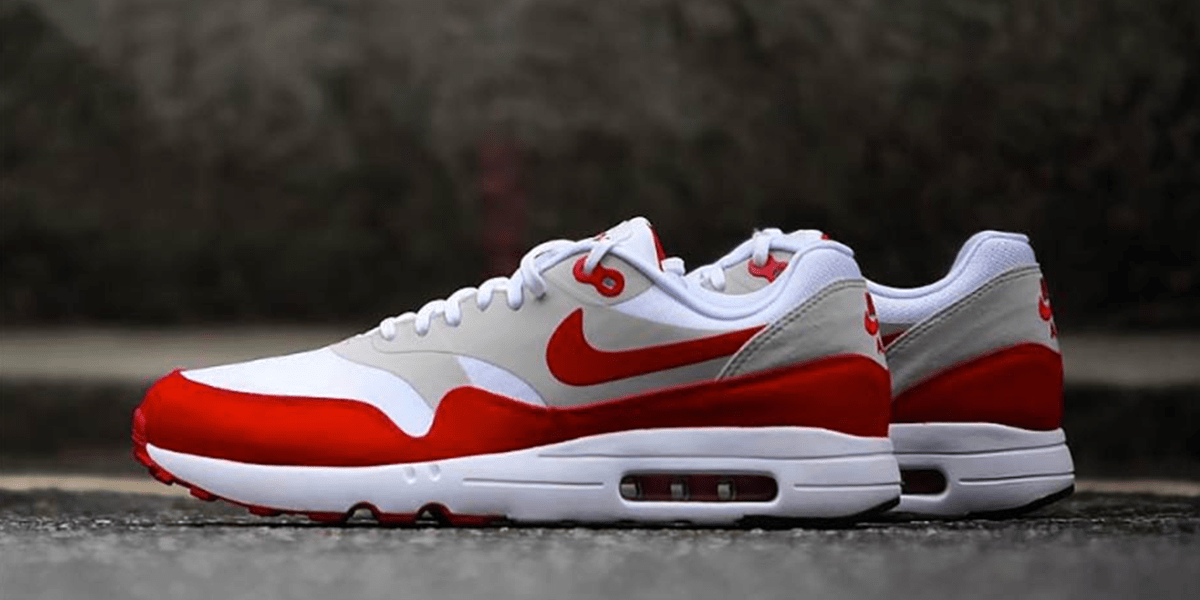 "Redesign Your Nike Air Max 1 OG ""SPORT RED"" Sneakers"