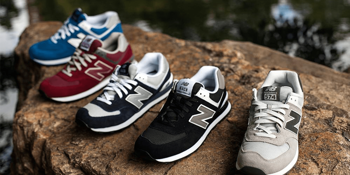 Replacement Shoelaces for New Balance 574 Sneakers