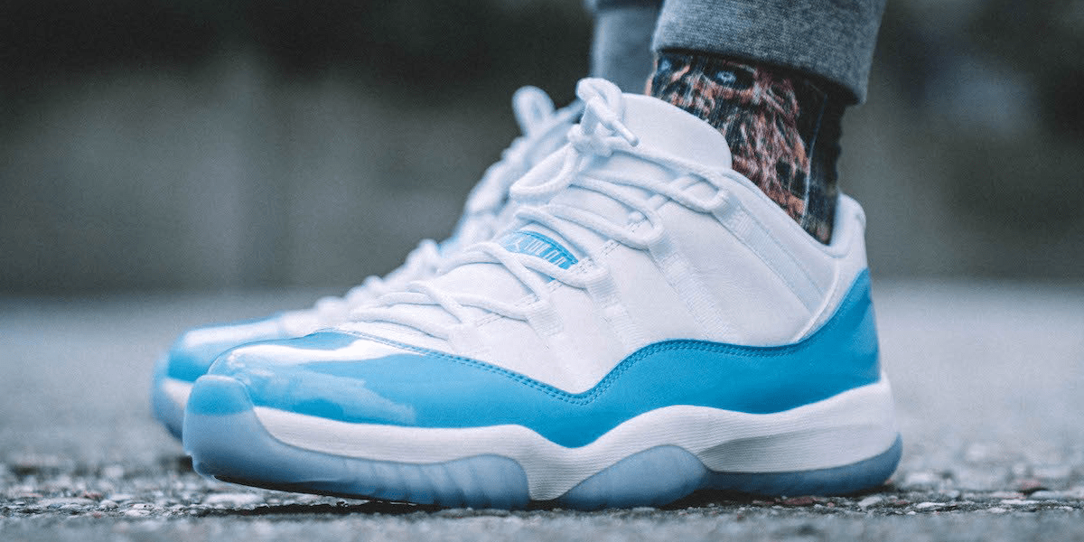 Colored Shoelaces: Shoelaces For Your Air Jordan 11 Columbia Low ...