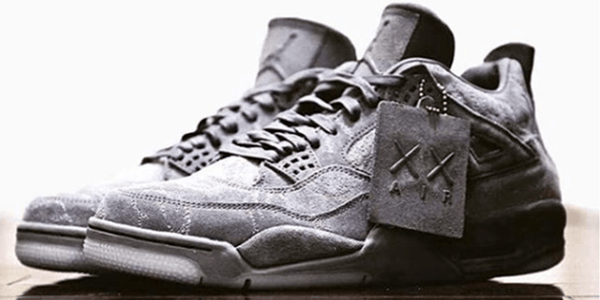 big sale 8c17f 89ff8 Upgrade Your Air Jordan 4 Kaws with New Strings - Lace Kings