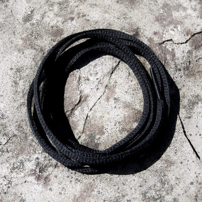 Oval Shoe Laces (Black)