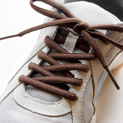 Oval Shoe Laces (Brown)