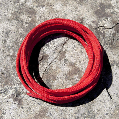 Oval Shoe Laces (Red)