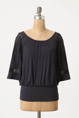 Framed-Sleeve Top