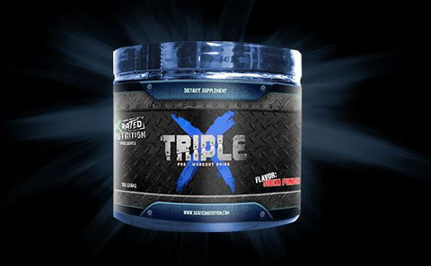 Triple X Pre-Workout Drink