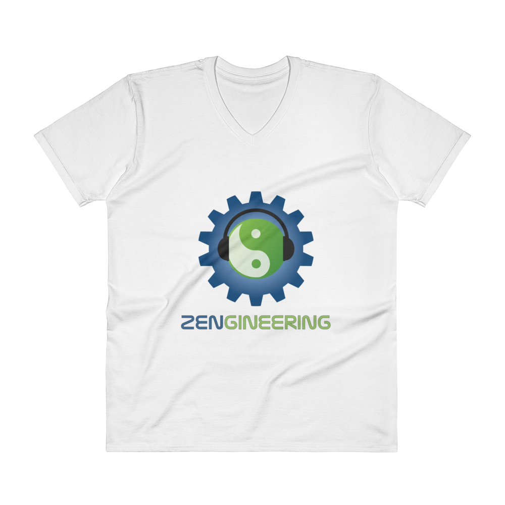 Zengineering Logo V-Neck T-Shirt