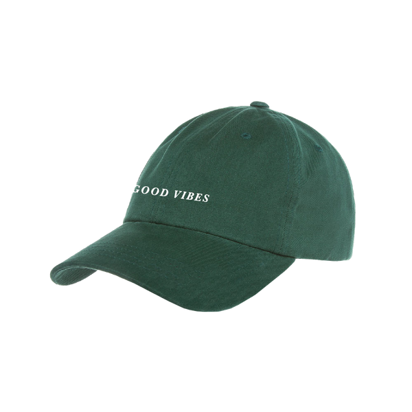 Good Vibes Spruce Dad Hat