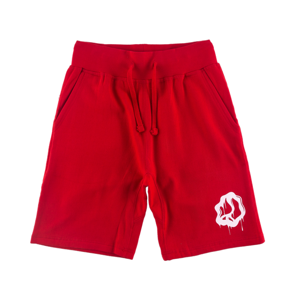 Dizzy Peace Red Sweatshorts