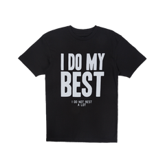 Do My Best Tee in Black