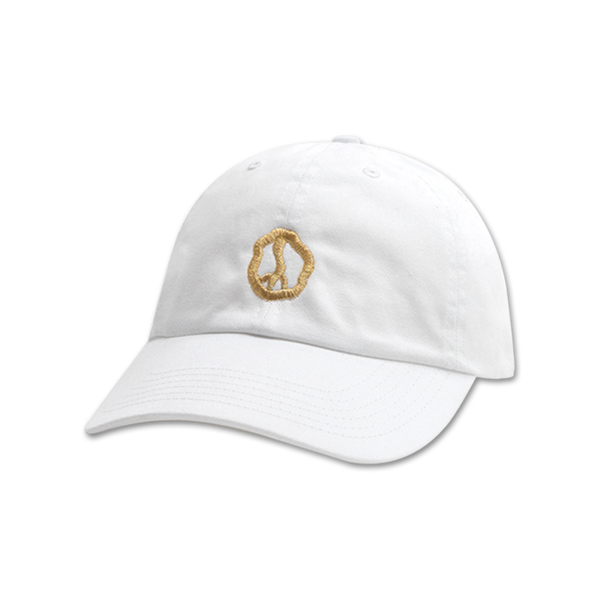TGA2 Golden Peace Dad Hat in White