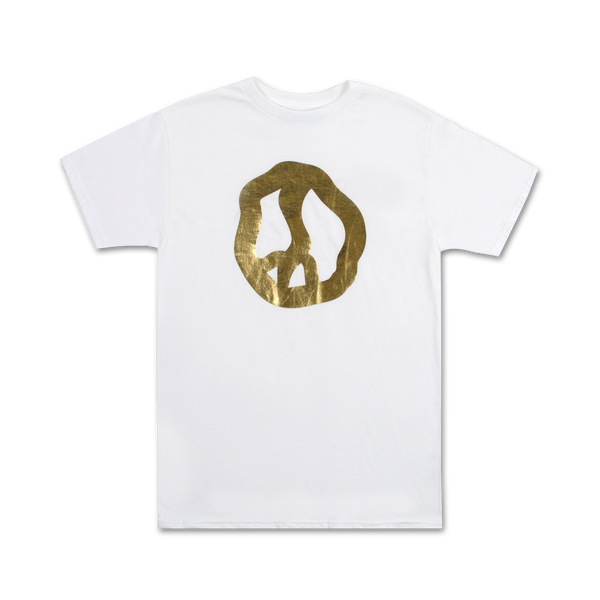 TGA2 Golden Peace Tee - White