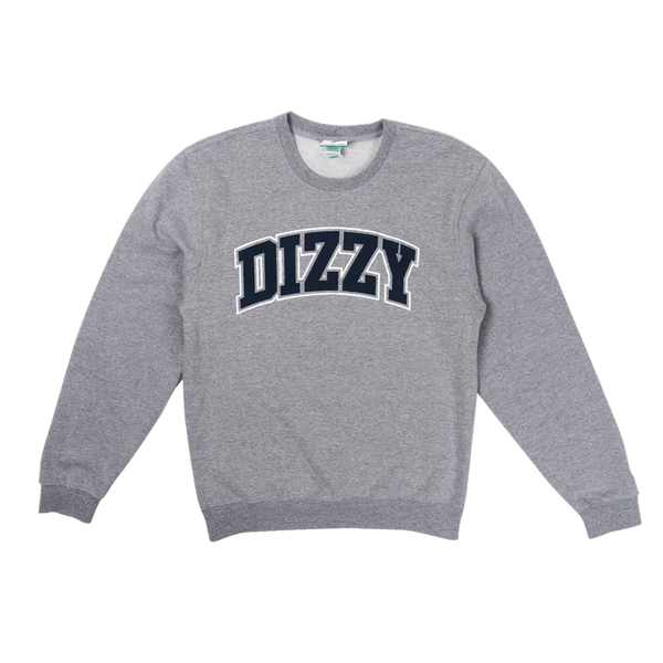 LRG Dizzy University Crewneck Sweatshirt in Grey