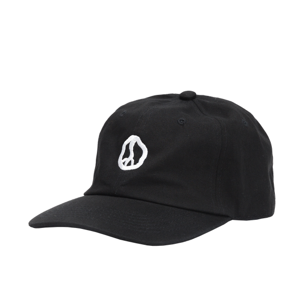 Dizzy Peace Black Dad Hat