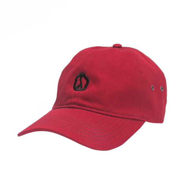 LRG Good Vibes Dad Hat in Red