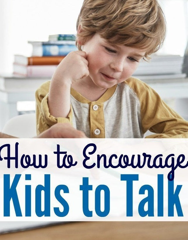 Ways to Encouraging kids to communicate/talk