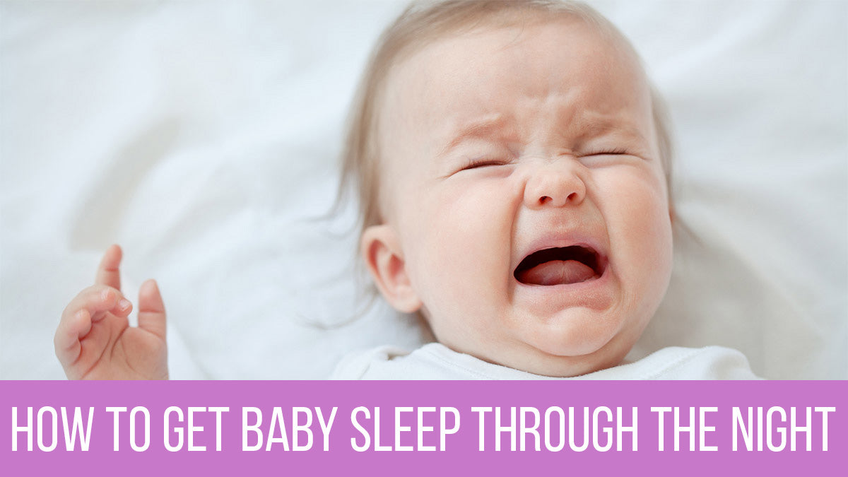 Yearning for peaceful night? Here's how to get baby sleep through the night!