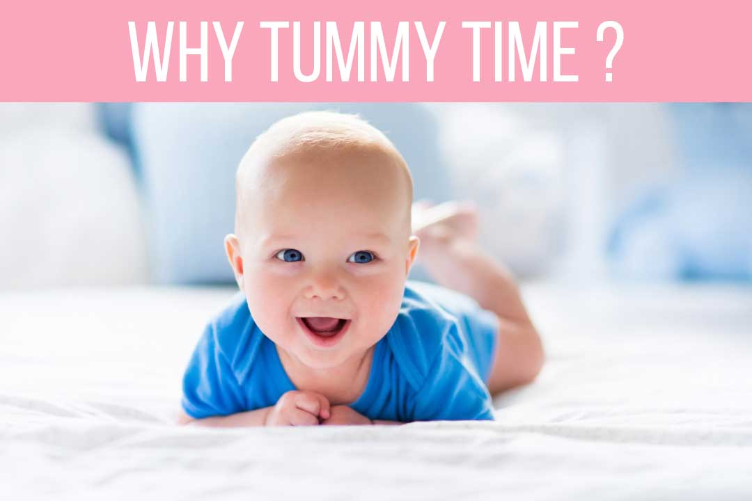 Tummy time for your babies! A MAJOR STEP for other PYHSICAL MILESTONES