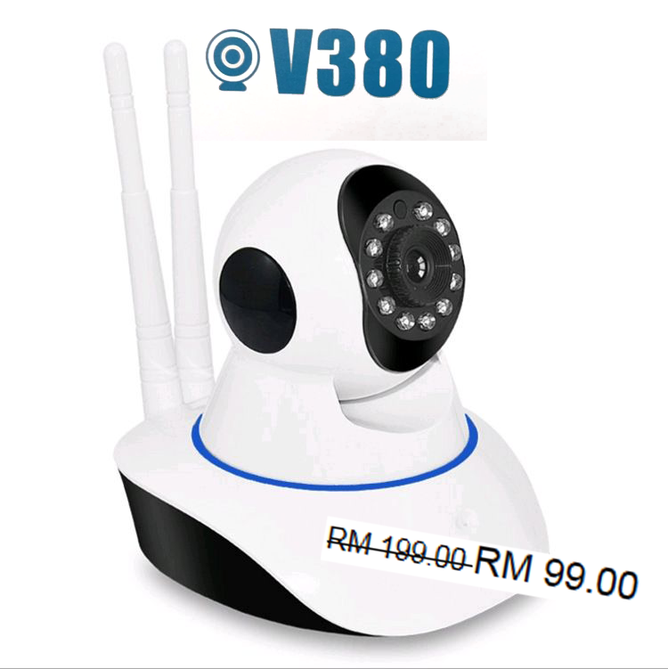 SECURE Your Home and Business with V380 WiFi IP Smart Camera