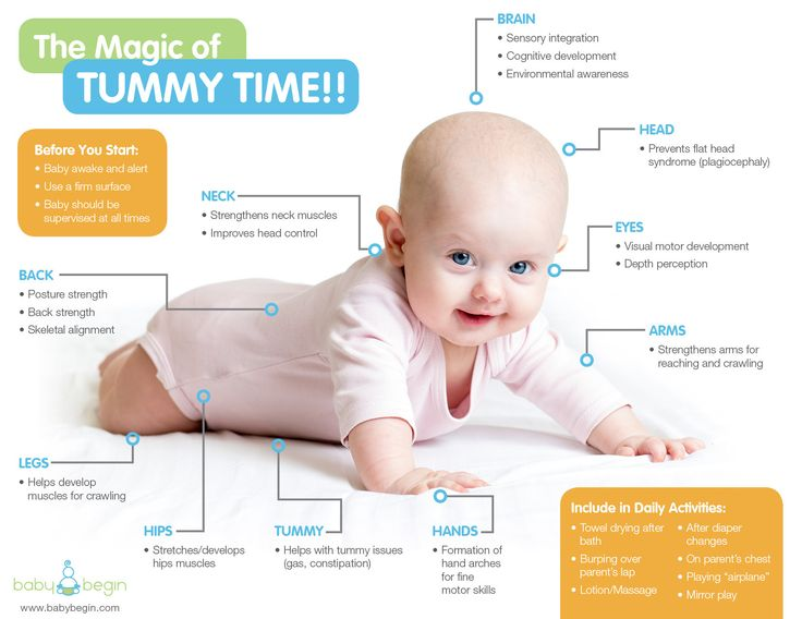 benefits of tummy time info compiled by halomama