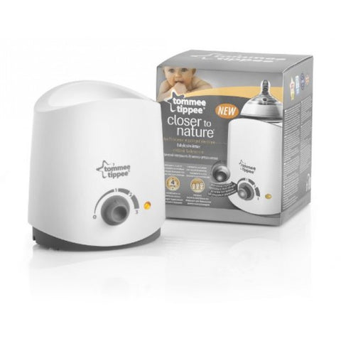 TOMMEE TIPPEE CTN BOTTLE WARMER WITH TRAY