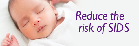breastfeeding reduces risk of SIDS by 50%