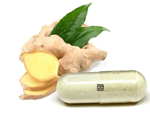 morning sickness remedies with ginger, vitamin b6