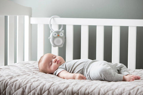 use white noise devices to calm babies that remind them inside the mother's womb thus help them sleep easier tavo melaka