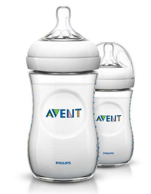 PHILIP AVENTS NATURAL BOTTLE 260ML (TWIN PACK)-NATURAL 2.0 EXTRA SOFT TEAT| |Halomama - HALOMAMA.com