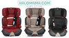 CHICCO OASYS 2/3 FIX PLUS EVO CAR SEAT - AVAILABLE IN 3 COLOURS WITH CHICCO SHAMPOO & CHOMEL HAND SANITIZERS + K-MOM WET WIPES PROMISE ( 70 PCS )