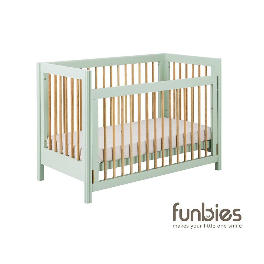FUNBIES CLOVER BABY COT SET (SOFT GREEN)