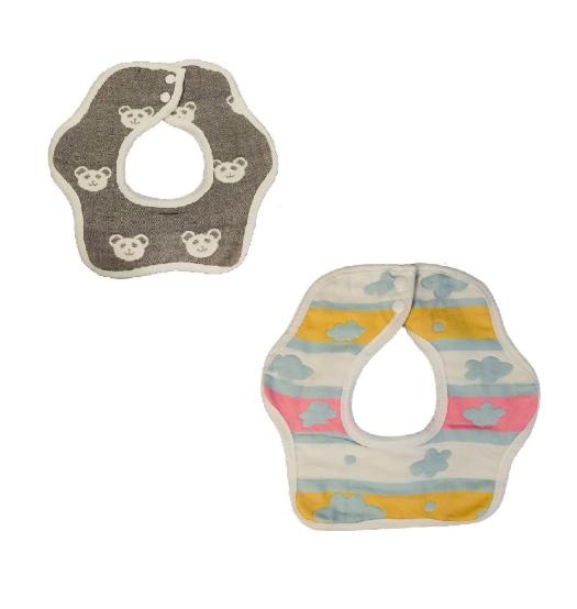 CARRIER BIBS X 2PACK