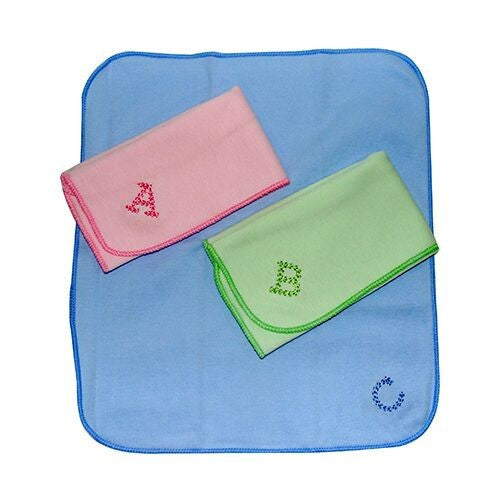 BABYLOVE 3S ABC WASHCLOTH (3pcs) 20 X 30CM (colours might different)
